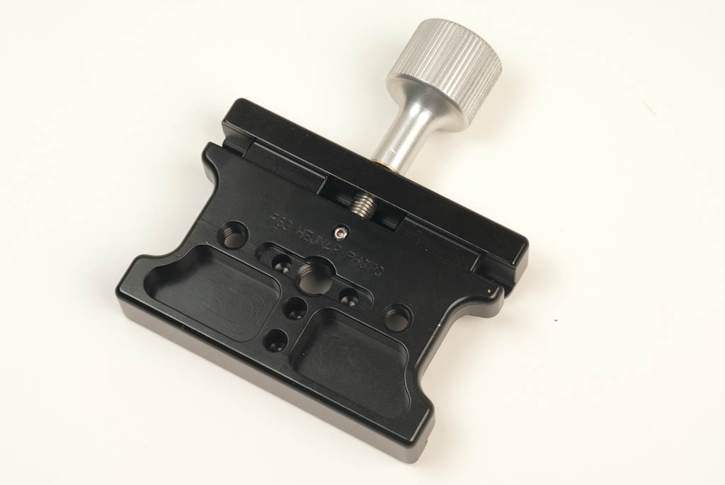 Hejnar Photo F63 QR Clamp bottom view
