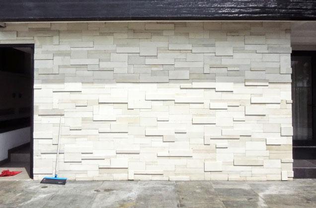 Hasil gambar untuk batu paras jogja putih