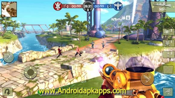 Blitz Brigade Online FPS fun Apk MOD v2.0.1b