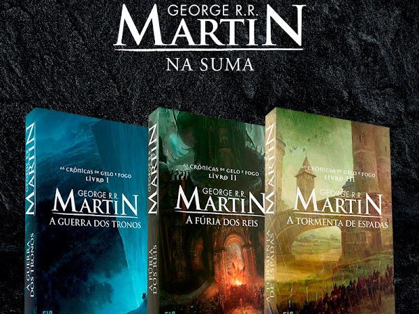 Os livros de George R. R. Martin serão publicados pela Editora Suma, do Grupo Companhia das Letras