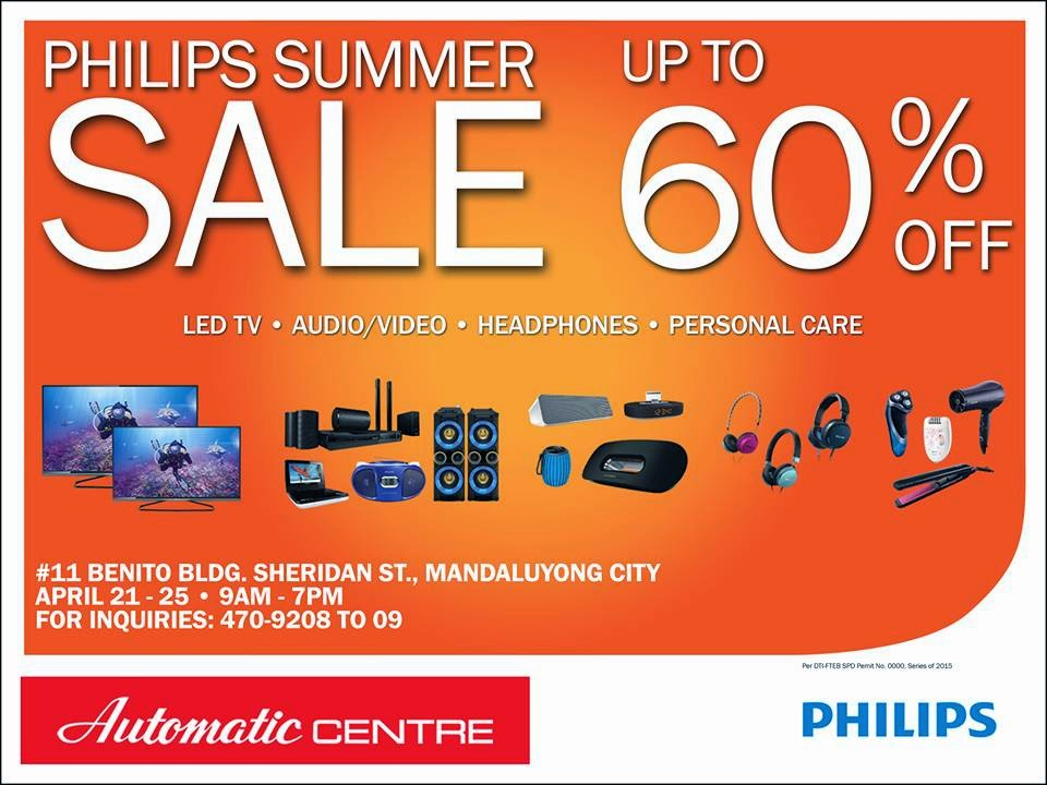 9b44e5802f Check out Philips Summer SALE on April 21 - 25