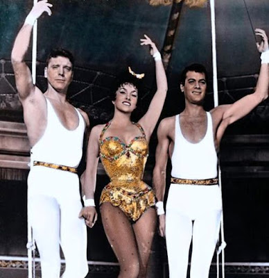 Trapeze 1956 Gina Lollobrigida Burt Lancaster Tony Curtis Image 1