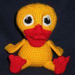 patron gratis pato amigurumi, free amigurumi patter duck