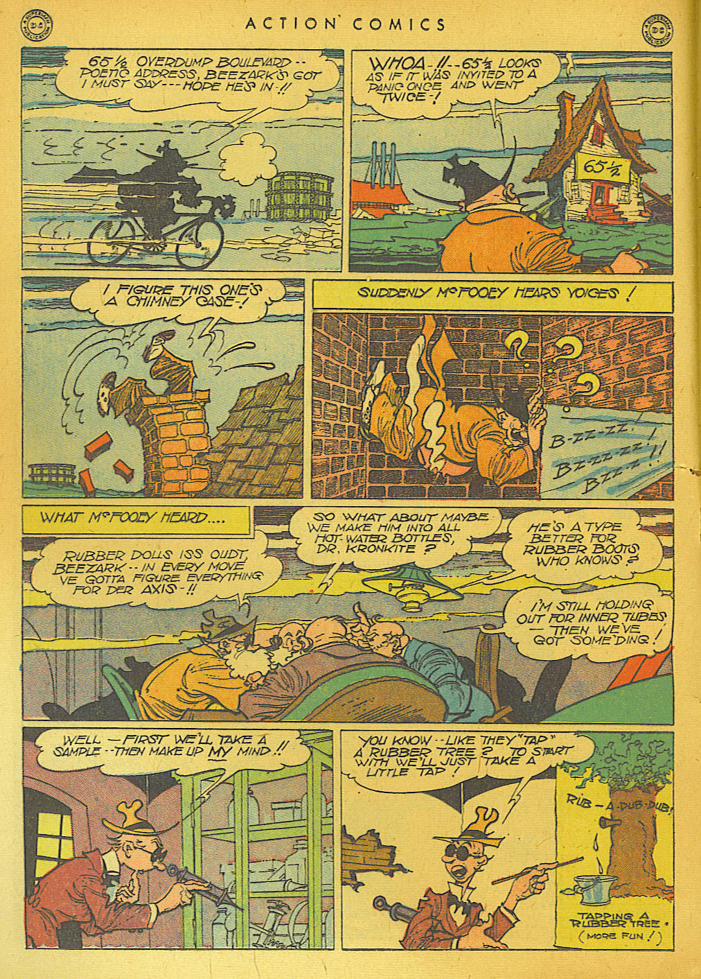 Read online Action Comics (1938) comic -  Issue #74 - 30