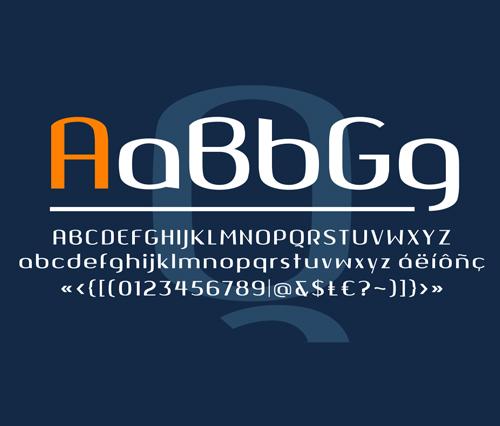 Font Commercial Gratis Terbaru Untuk Desainer Grafis - Quango Free Font