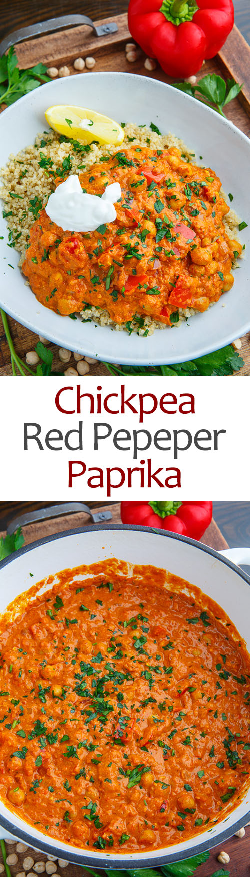 Chickpea and Red Pepper Paprika on Closet Cooking