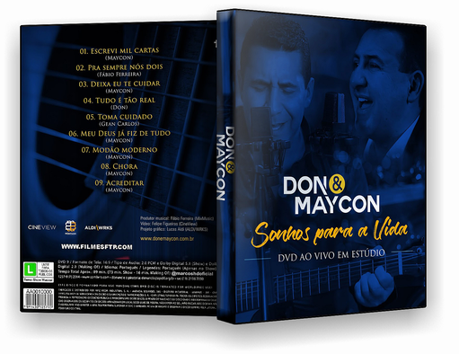 DVD-R Don Maycon 2018 – OFICIAL