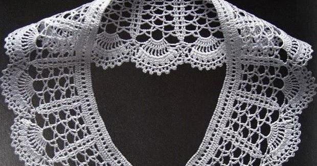 Stylish Easy Crochet Crochet Women Peter Pan Collar Free