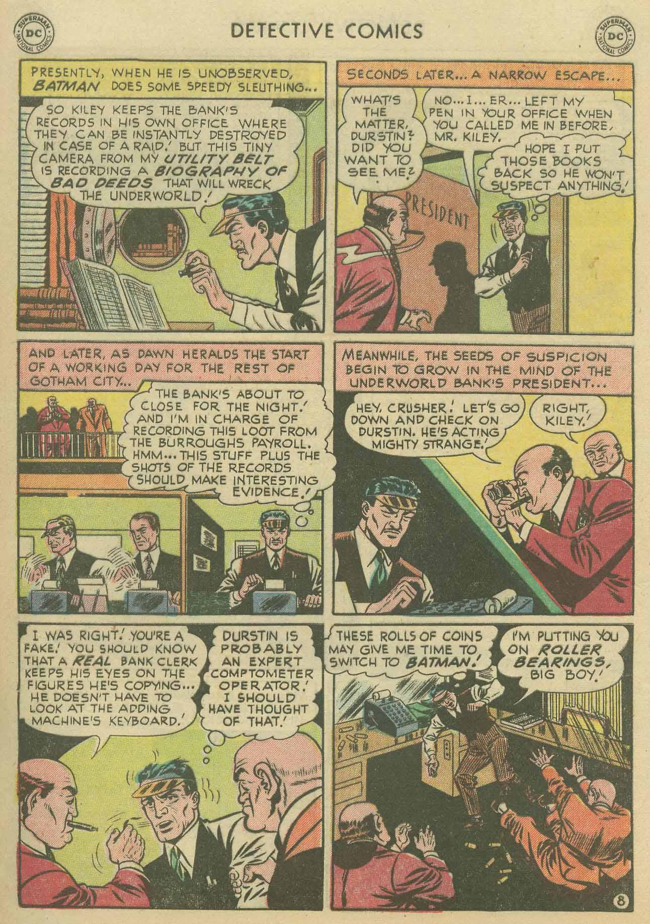 Detective Comics (1937) 175 Page 9