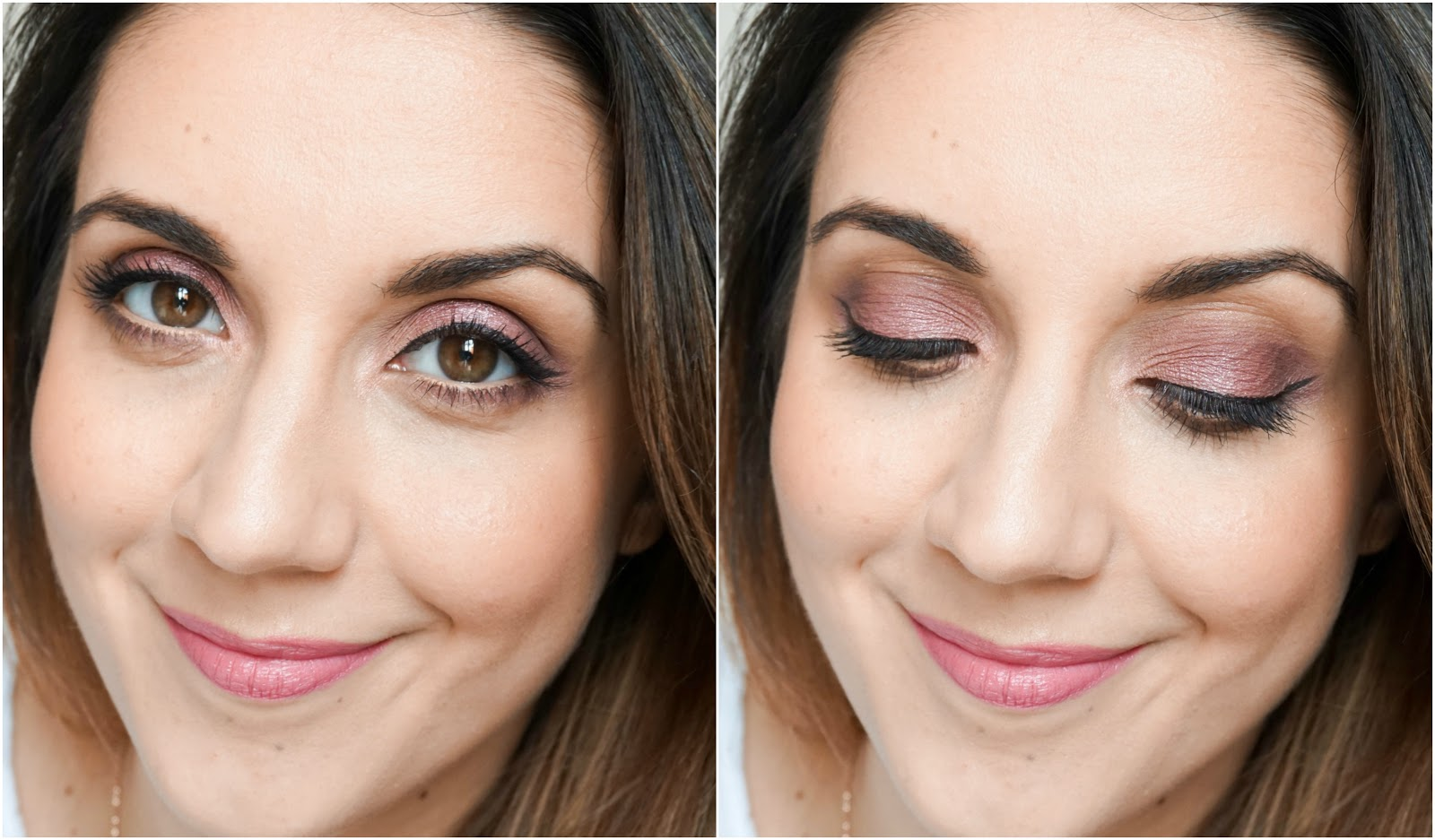 Valentines Glam Makeup Look