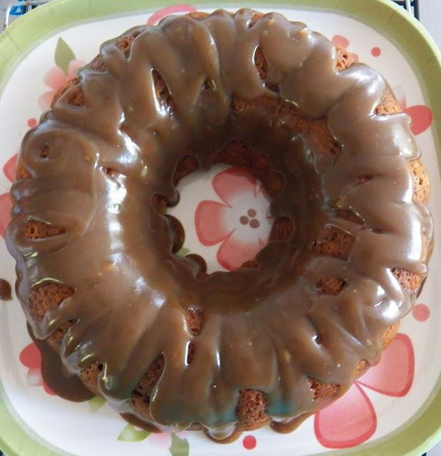 Candied Ginger and Pumpkin Bundt Cake
