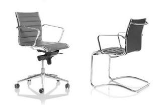sedie ufficio riunione in pelle padova