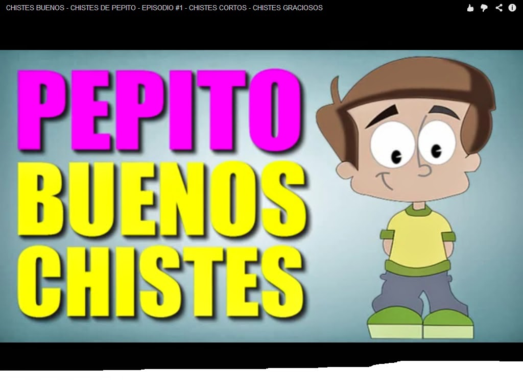 Video de chistes de pepito groseros