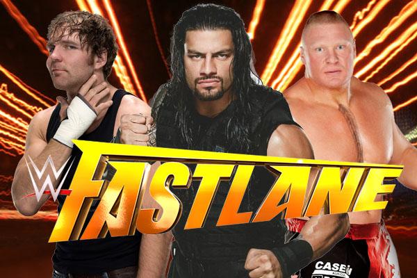 WWE Fastlane 2016 Live