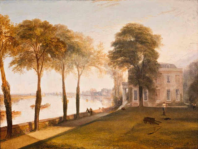 William Turner, Mortlake Terrace: Early Summer Morning