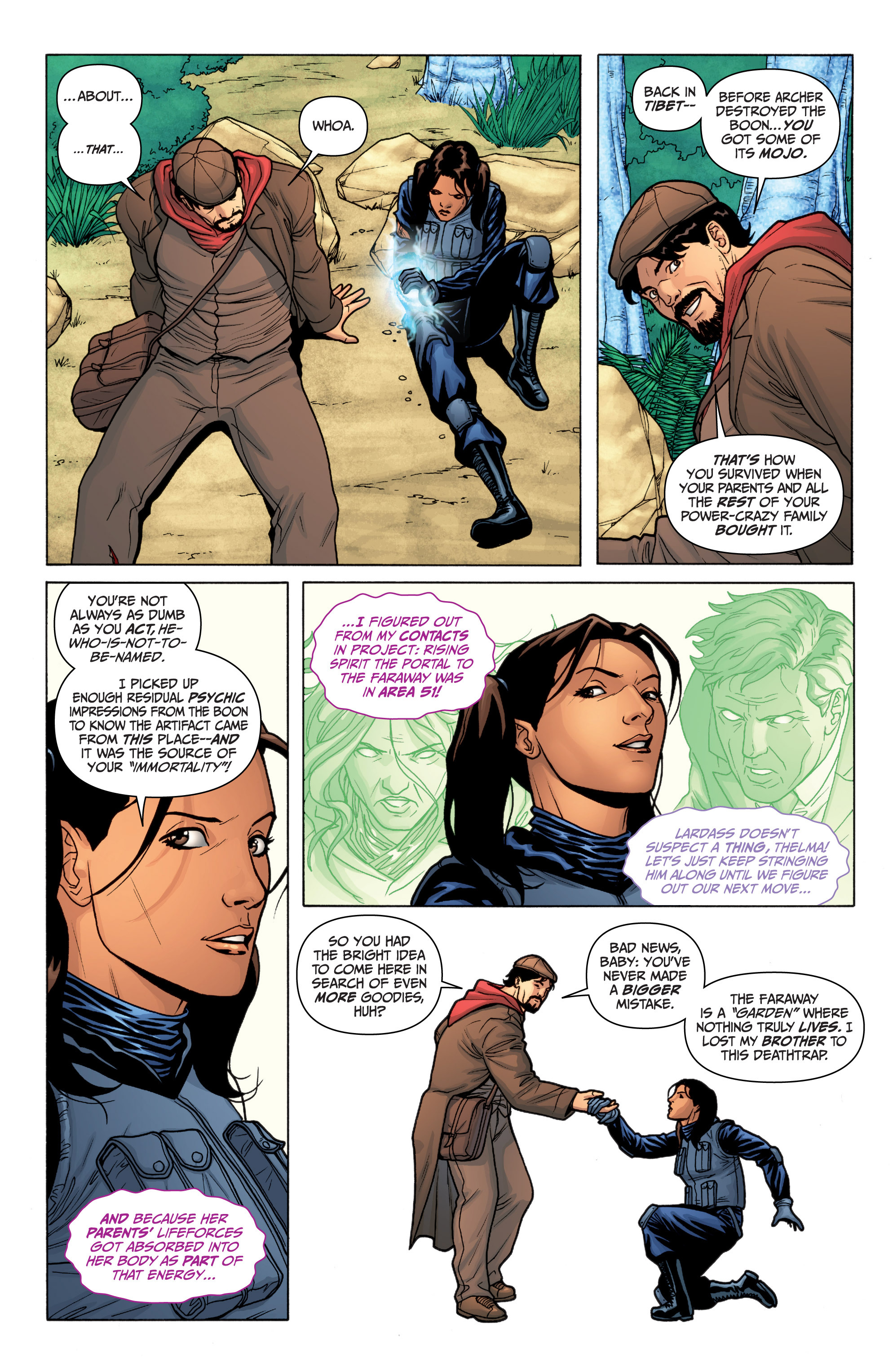 Read online Archer and Armstrong comic -  Issue #Archer and Armstrong _TPB 3 - 56