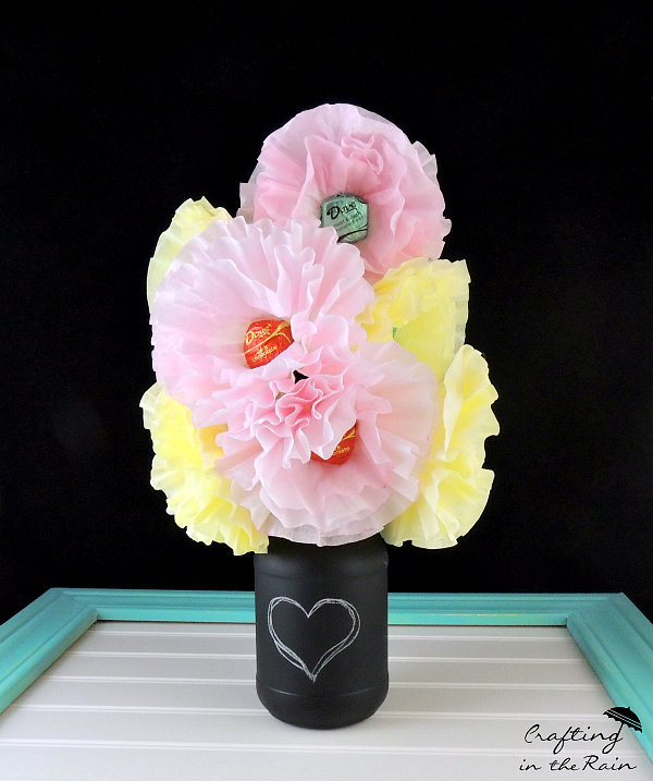 Coffee Filter Flowers || Crafting in the Rain