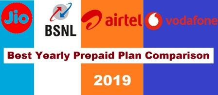 Best Yearly Prepaid Plan Comparison