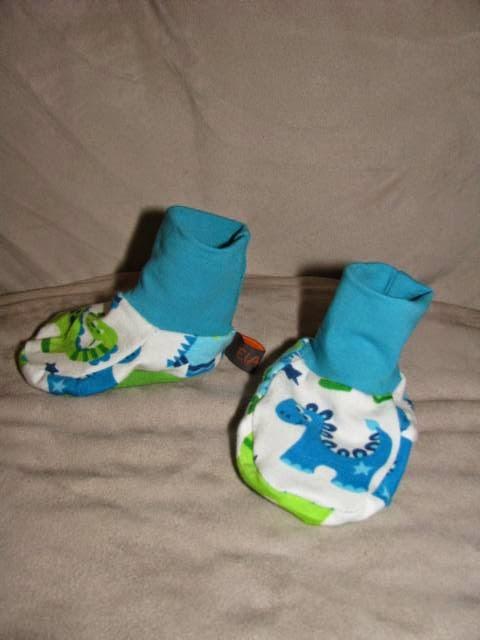 free shipping 700d6 0e114 ElAdo ! Alles rund um's Nähen !: Babyschuhe aus Jersey !