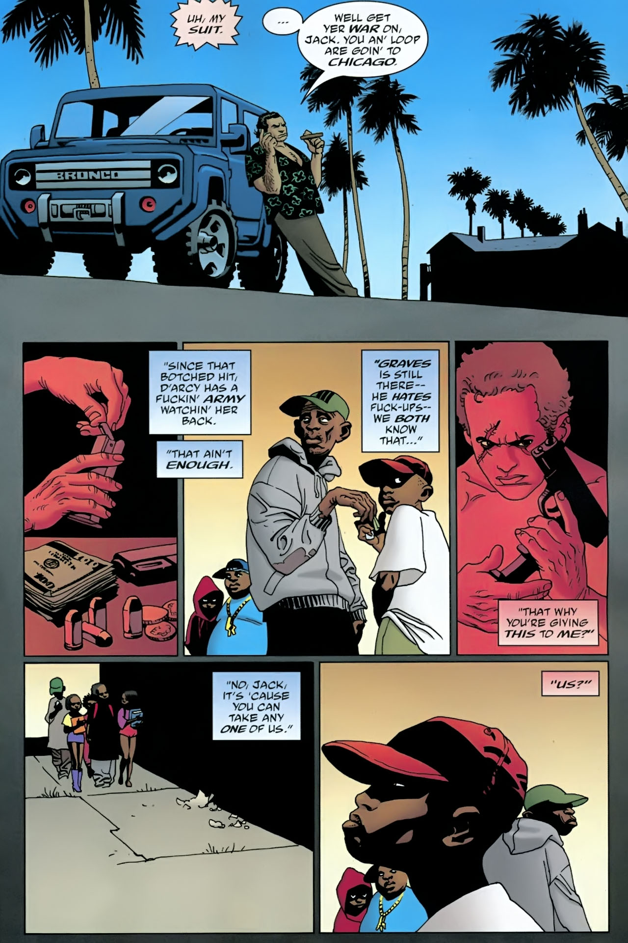 Read online 100 Bullets comic -  Issue #90 - 19