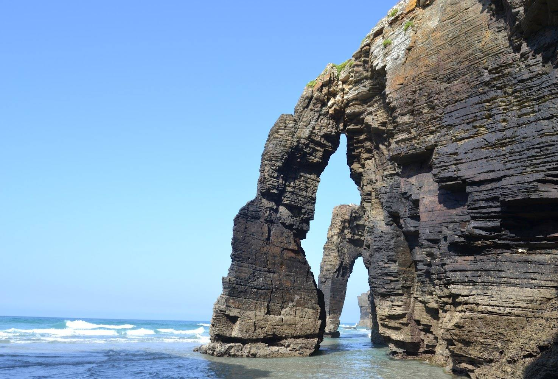 playa de las catedrales ribadeo lugo