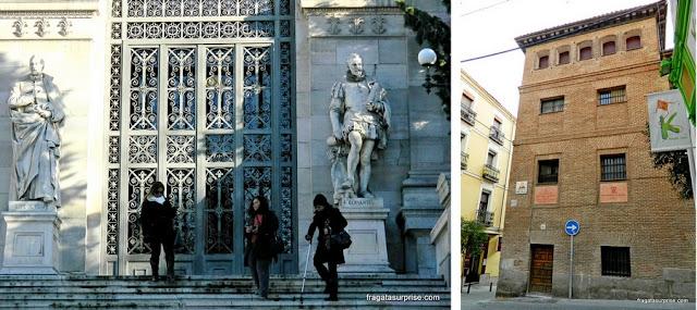 Madri, Bibliteca Nacional e Trinitárias Descalças