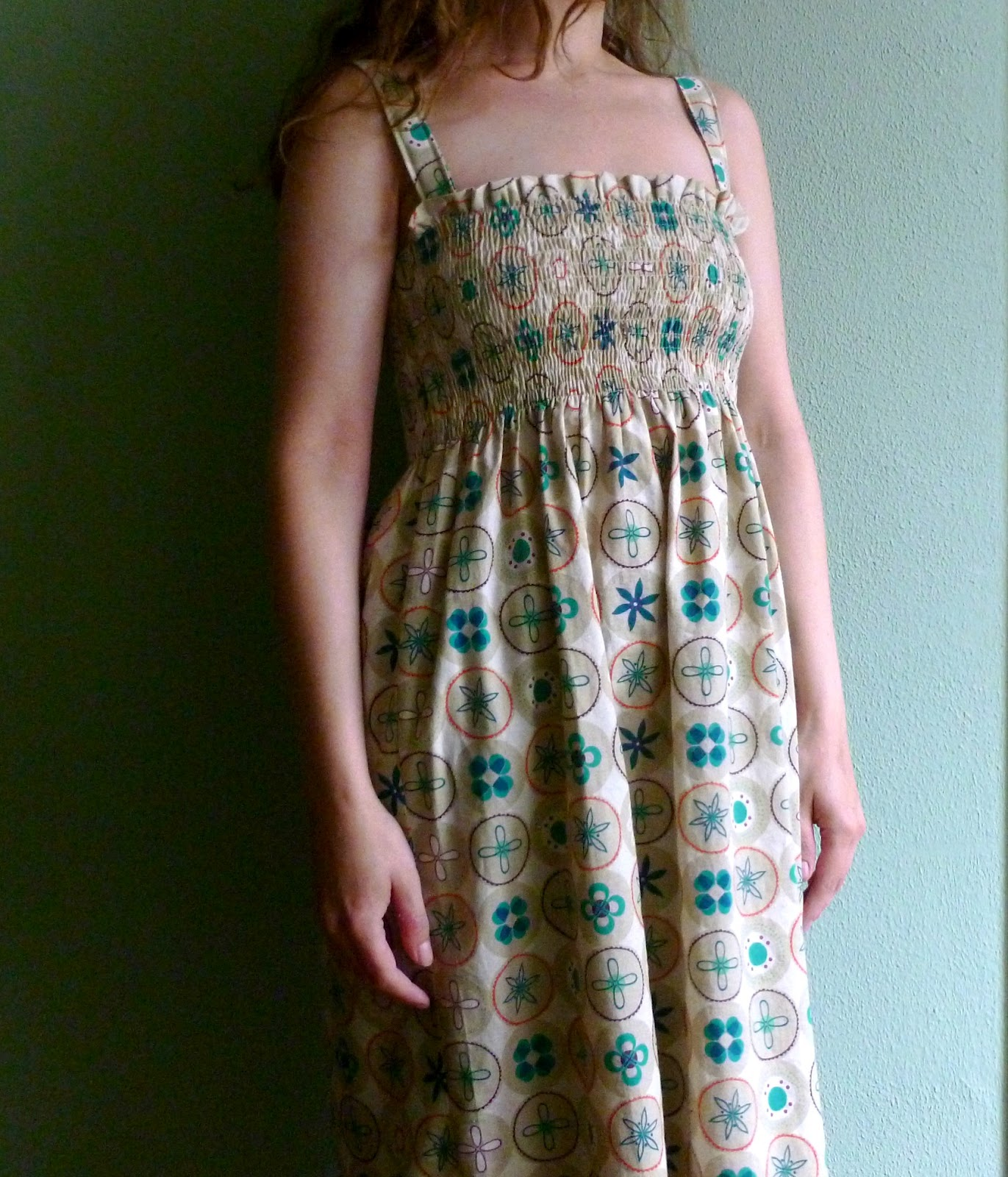 Where the Orchids Grow.: Shirred Sundress tutorial
