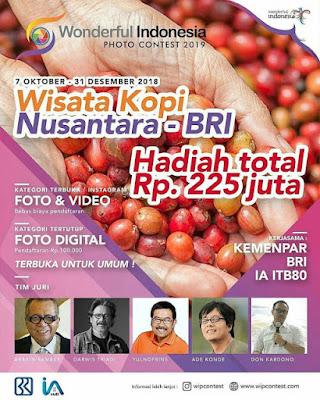 Lomba Foto & Video Wisata Kopi Nusantara BRI 2019