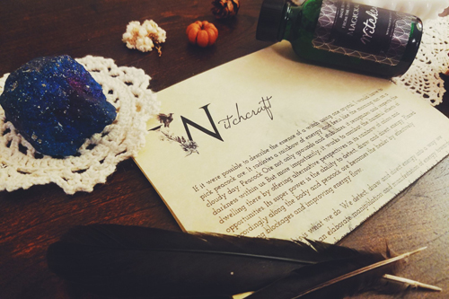 Magickal Folk Box Review: November: Crystal Alchemy Kit