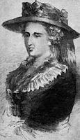 Portrait of Gothic novelist Ann Radcliffe