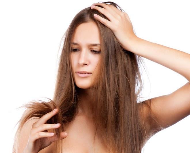 Mascarilla para el cabello reseco