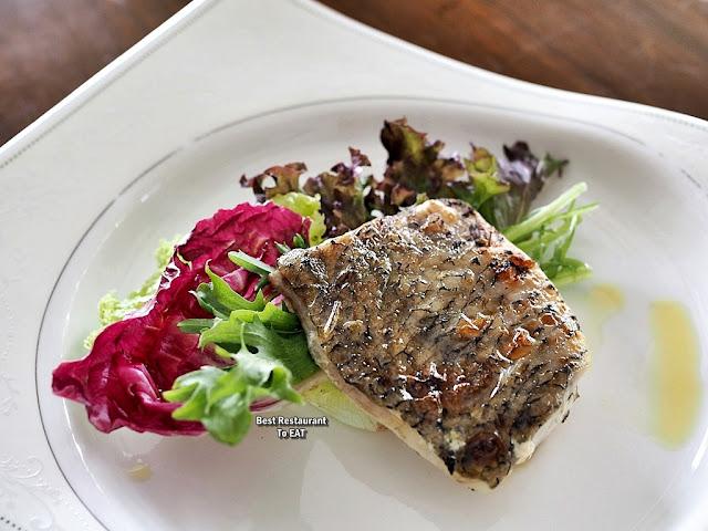 PASSIONE RISTORANTE ITALIANO Menu - Branzino Alla Griglia  - Grilled Marinated Seabass Fillet