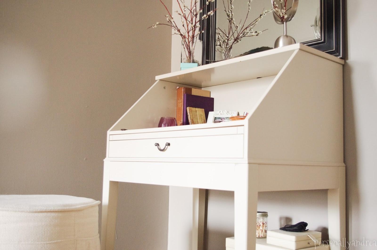 Diy Repurposed Ikea Desk Personally Andrea Diy