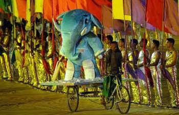 ICC Cricket World Cup 2011 Opening Ceremony Dhaka Bangladesh