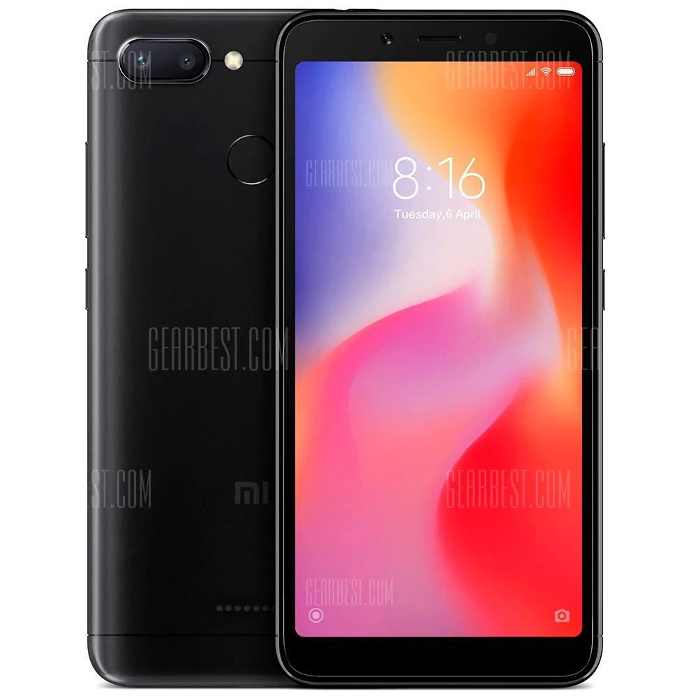 Xiaomi Redmi 6 4G Smartphone Global Version Coupon