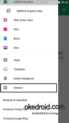 Setelan Play Store Android