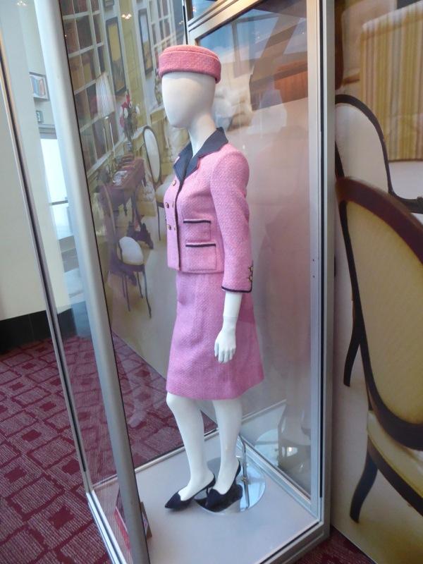 Natalie Portman Jackie Kennedy pink movie costume