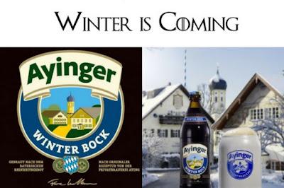 Ayinger Winter Bock cerveza de invierno