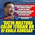 Hishamuddin Optimis Kemenangan BN Di Kuala Kangsar #PRKKualaKangsar #KekalBN