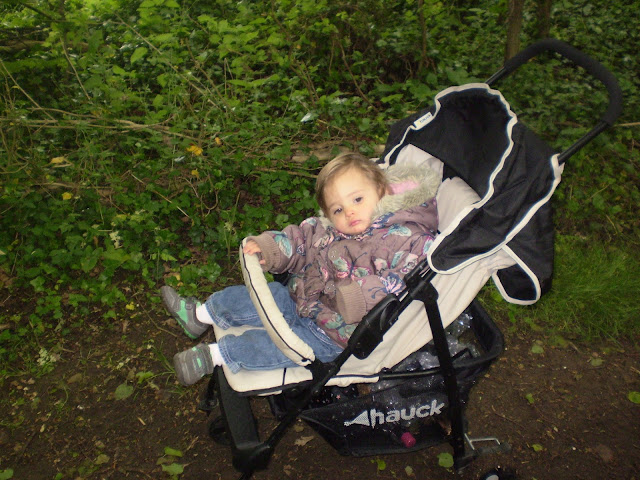Eldest sat in stroller