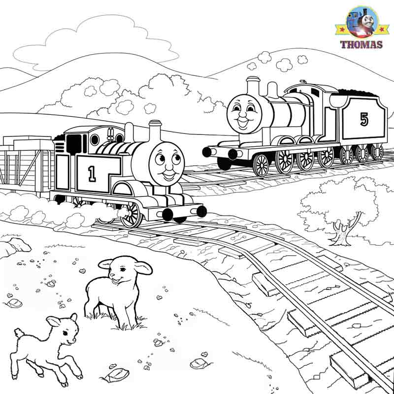 Thomas Coloring Pictures Pages To Print And Color Kids ...