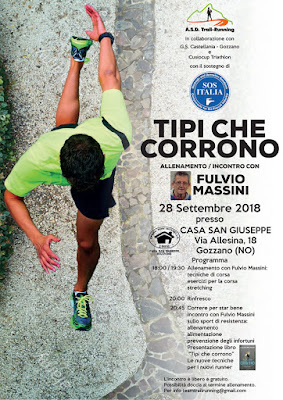 fulvio massini, runners world, libro tipi che corrono