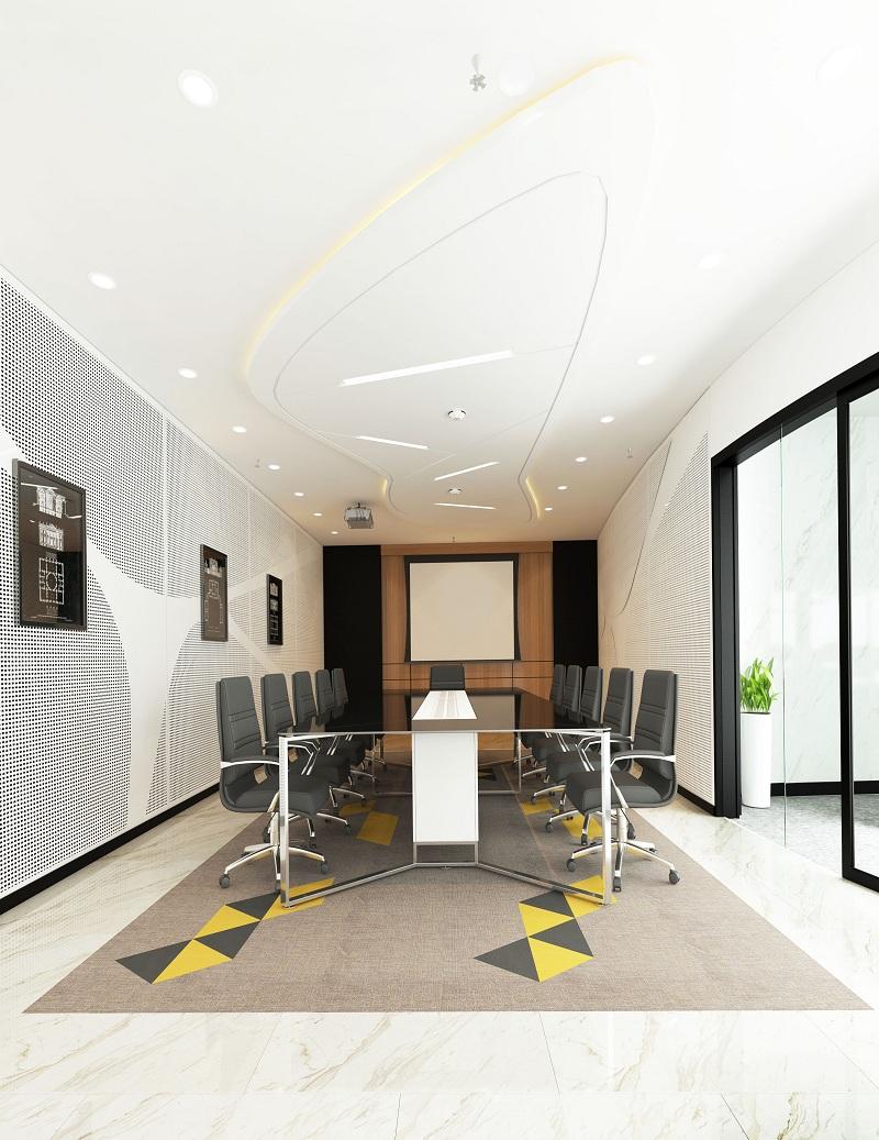 Thiết kế nội thất phòng họp đẹp sáng tạo chuyên nghiệp