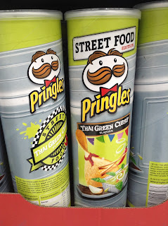 Pringles Thai Green Curry Street Food Edition