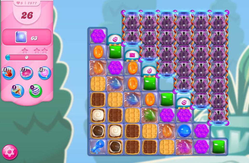 Candy Crush Saga level 7577