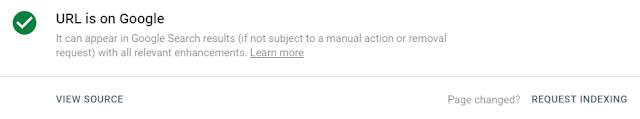Bagaimana Cara Indeks Artikel Google Dengan Cepat