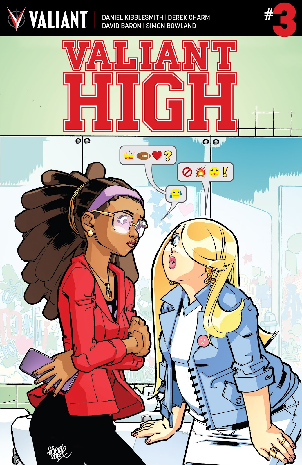 Comic Valiant High issue 5