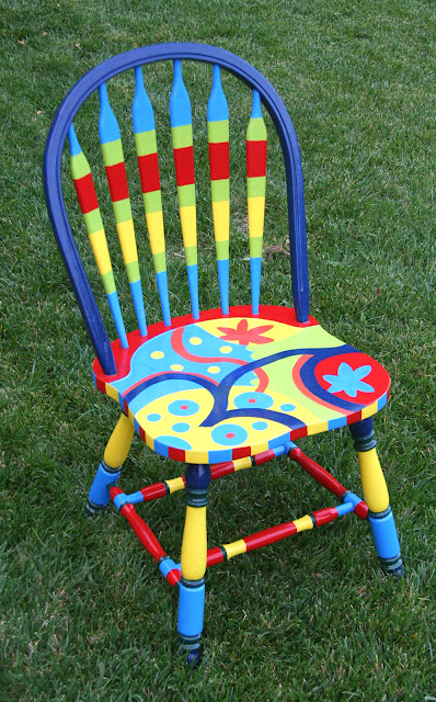 Painting Old Wood Chairs