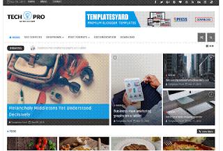 tech pro blogger template