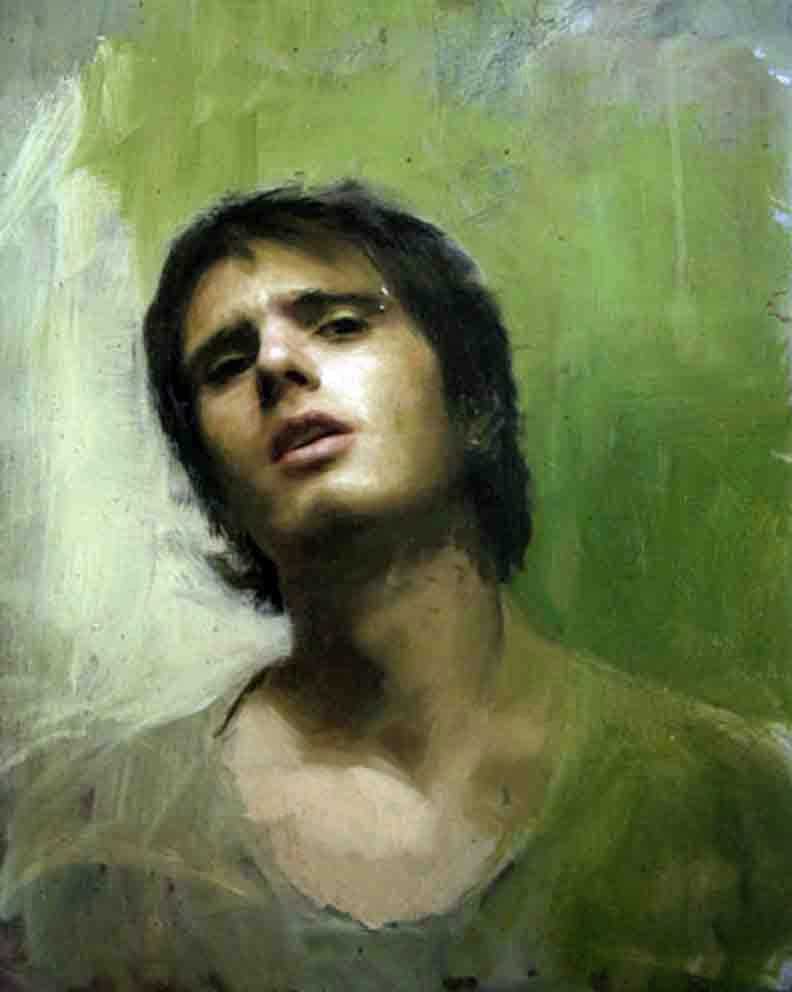 Guillermo Lorca, Self Portrait, Portraits of Painters, Fine arts, Painter Guillermo Lorca